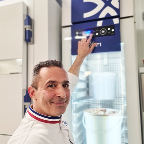 We have equipped the laboratory of Frédérick Hawecker, Best Worker in France